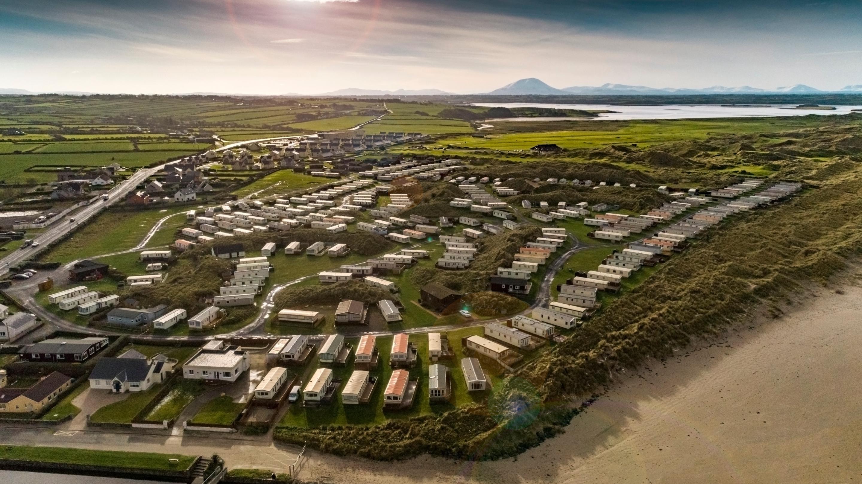 Atlantic Caravan Park - Aerial View